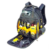 DEWALT DGL523 57-Pockets Tool Backpack