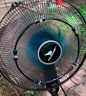 Review of HOMENOTE 19.36FT Fan Misting Kit