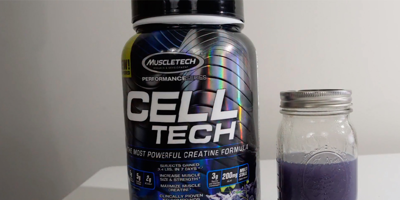 Review of MuscleTech 3.00 lbs (1.36kg) Cell Tech, Hardgainer Creatine Formula Supplement