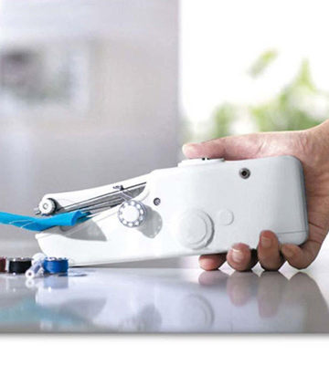 Review of DUTISON Handheld Sewing Machine Mini Cordless Portable Electric Sewing Machine