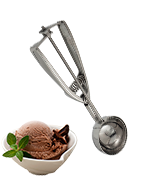 Solula 18/8 Stainless Steel Large Ice Cream Scoop