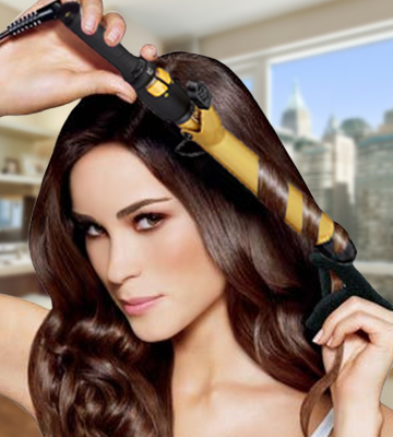 Review of Babyliss Pro CT100S Ceramic Tools Spring Curling Iron