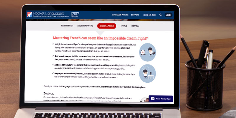 Review of Rocket Languages French Online Course
