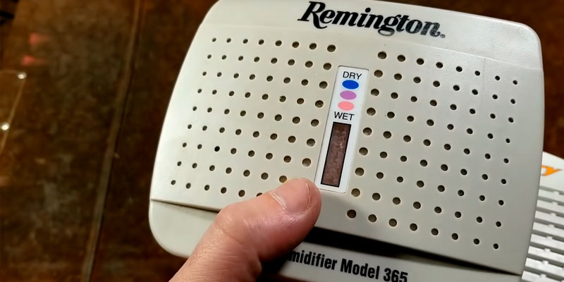 Review of Remington 365 Rechargeable Dehumidifier