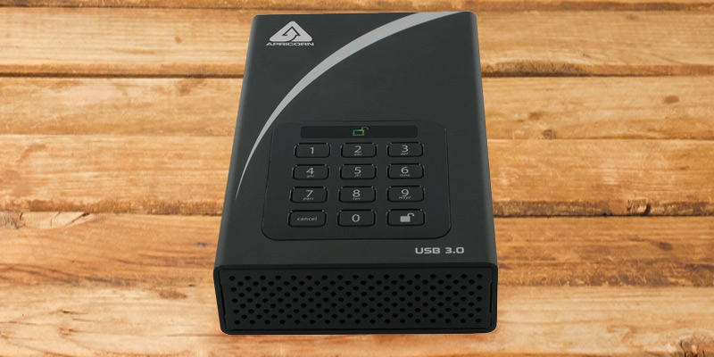 Review of Apricorn Aegis Padlock Encryption USB 3 Hard Drive