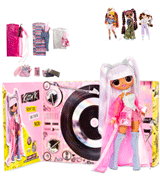 L.O.L. Surprise! OMG Remix Kitty K Fashion Doll with 25 Surprises