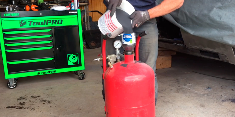 Review of Goplus 20 Gallon Portable Air Sandblaster