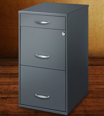 Review of CommClad 20205 Hirsh SOHO 3 Drawer File Cabinet