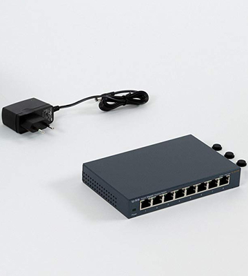 Review of TP-LINK TL-SG108 8 Port Gigabit Ethernet Network Switch, Sturdy Metal w/Shielded Ports