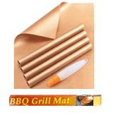 YRYM Set of 5 Non Stick Grill Mat