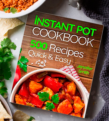 Review of Jennifer Smith 500 Everyday Recipes Instant Pot Pressure Cooker Cookbook