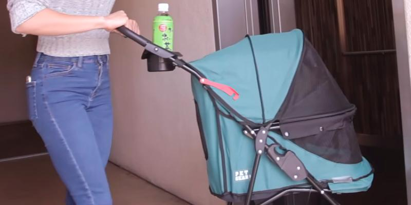 Pet Gear Happy Trails No Zip Pet Stroller application