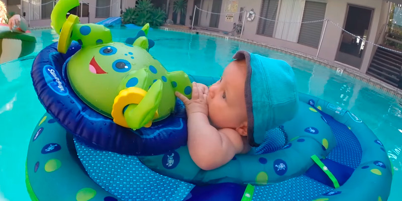 Review of SwimWays Octopus Baby Float