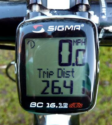 Review of Sigma Sport BC16.12 STS Cadence Wireless Bike Computer
