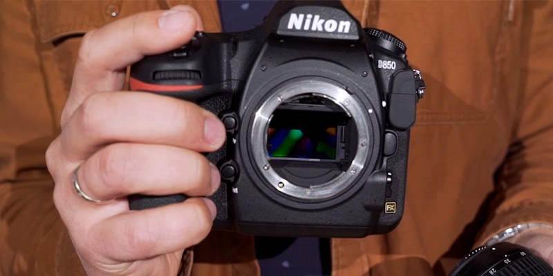 Nikon D850 FX-format Digital SLR Camera (Body Only) in the use