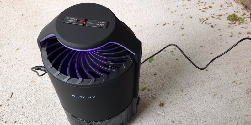 Review of KATCHY Indoor Insect Trap Mosquito Killer