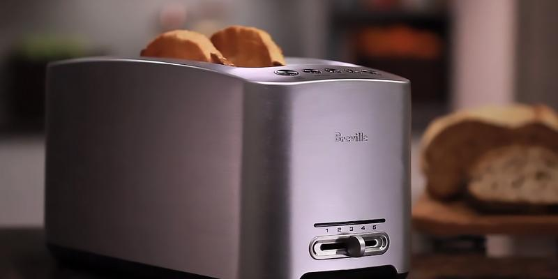 Review of Breville BTA830XL Die-Cast Long Slot 4-Slice Toaster