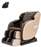 Real Relax Rocking Robotic S Track Massage Chair