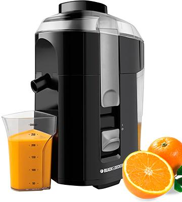 Review of BLACK+DECKER JE2200B Custom Cup Black 400-Watt