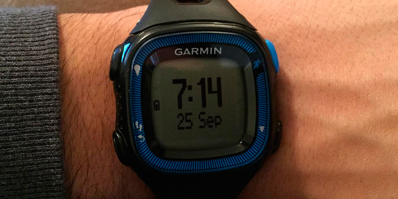 Garmin Forerunner 15 GPS Running Watch application