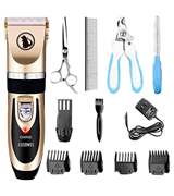 Ceenwes Rechargeable Low Noise Pet Clippers