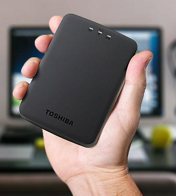 Review of Toshiba Canvio AeroCast (HDTU110XKWC1) Wireless Hard Drive