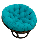 International Caravan International Caravan Papasan Chair with Micro Suede Cushion