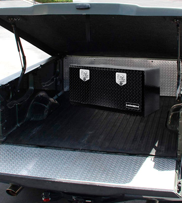 Review of ARKSEN Plate Tool Box With T-Handle Latch Pickup Truck Underbody Trailer Storage