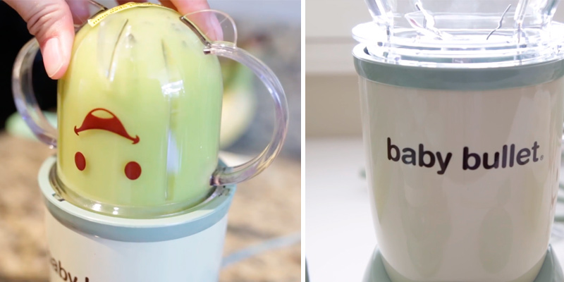 Nutribullet Baby Bullet Baby Care System Blender in the use