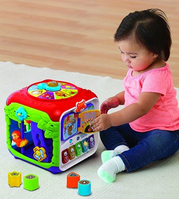 Review of VTech Sort & Discover Activity Cube