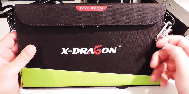 Review of X-DRAGON Portable Foldable Solar Charger