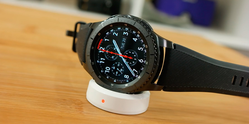 Review of Samsung Gear S3 Frontier Smartwatch