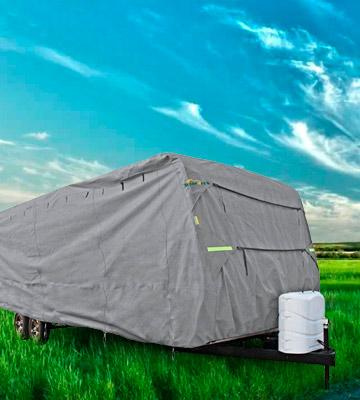 Review of Summates Travel Trailer RV Cover