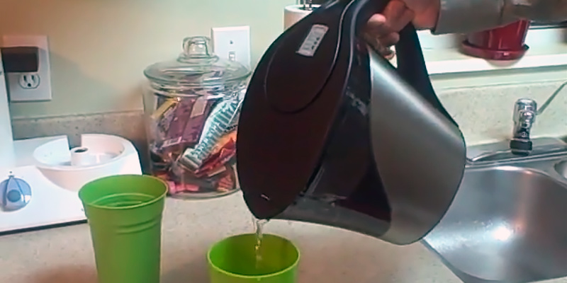 Detailed review of Brita Stainless Steel BPA Free Water Pitcher