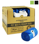 Gorilla Supply 20 of 50 Rolls Pet Poop Bags with Free Dispenser