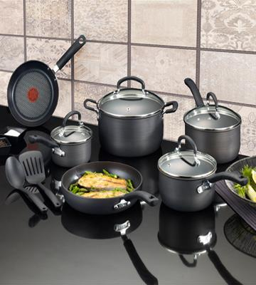 Review of T-fal 12-Piece Hard Anodized Cookware Set