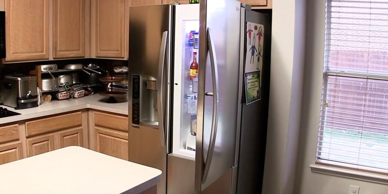 Review of LG 26.1 Cu.Ft Side-by-Side Refrigerator