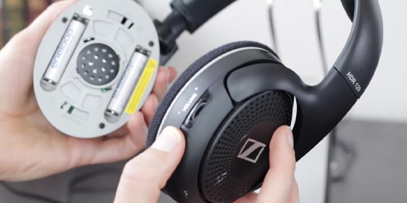 Sennheiser RS120 On-Ear Wireless RF Headphones application