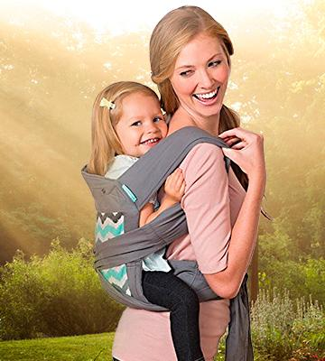 Review of Infantino 200-194 Sash Wrap and Tie Baby Carrier