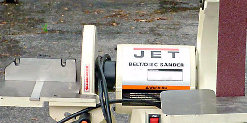 Review of JET J-41002 Bench Belt & Disc Sander