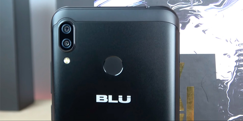 "BLU VIVO XL4 6.2"" HD Display Smartphone in the use"