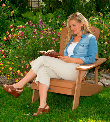 Review of Lifetime 60064 Faux Wood Adirondack Chair