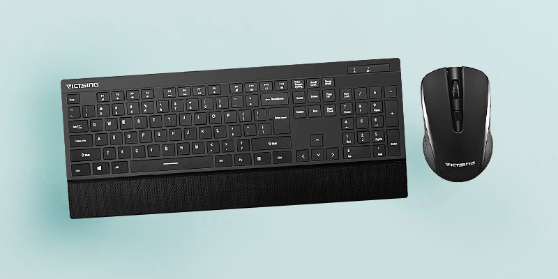 Review of VicTsing VTVTPC132ABUS Wireless Keyboard and Mouse Combo
