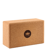 Lotuscrafts Non-Slip Yoga Block Cork Supra Grip