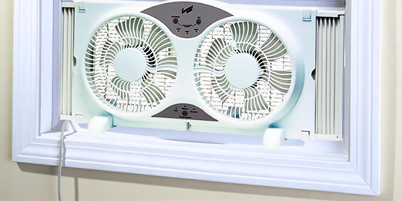 Detailed review of HowPlumb Twin Window Fan with Remote Control