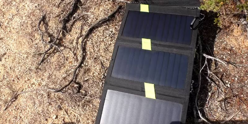 Detailed review of X-DRAGON Portable Foldable Solar Charger