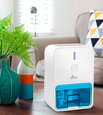 Review of Jese Small Dehumidifier for Bedroom, Bathroom, Closet, Baby Room