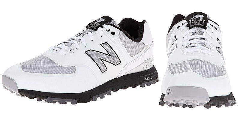 New Balance Men's NBG574B Spikeless Golf Shoe in the use