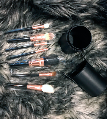 Review of Morphe 701 Brush Set for almost any type of makeup