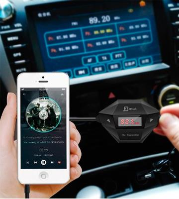 Review of JETech Wireless Car FM Transmitter with USB Charger
